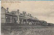 BOURKE RAILWAY STATION NSW  POSTCARD
