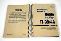 Programmer's Reference Guide To The TI-99/4A Illustrated Vintage Computing 1983