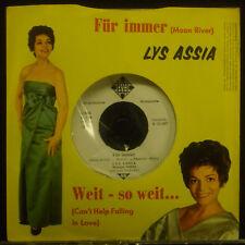 "7"" LYS ASSIA - für immer / weit - jusqu'à ce que, Promo"