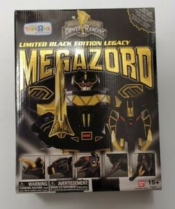 POWER RANGERS Legacy Collection MEGAZORD Figure Limited Black Edition