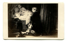 THE SONS OF EDWARD, LAST PRAYER BY DELAROCHE. CDV OF ARTWORK.