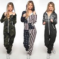 Overall Allover Damen Herren Jumpsuit 50002 Trainingsanzug Jogging Unisex Onesie