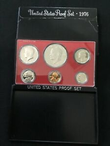 1776-1976 US Bicentennial Proof Set, Never Opened And New In Box