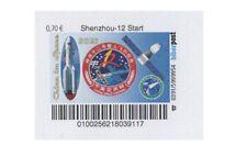 Privatpost Biberpost, China Shenzhou-12 Start 0,70€ ** 2021