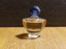 Vintage Guerlain Paris Shalimar Micro Mini Perfume Parfum Miniature Used