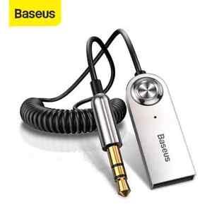 Baseus Bluetooth 5.0 Empfänger Adapter 3.5mm Jack Auto AUX AudioStereo Händefrei