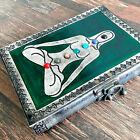 EXPRESS 7 Stones Yoga Diary Saint Design Spiritual Leather Journal Meditation
