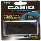 Casio Digital Travel Alarm Clock, 12/24 Hour Format, Snooze, Light, PQ13-1K