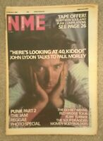 NME MAGAZINE - 8 February 1986 - John Lydon, The Jam, The Soup Dragons