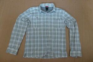 Mens The North face Check Shirt size Medium M
