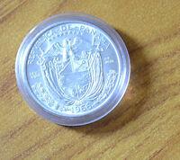 MONETA REPUBBLICA DI PANAMA 1 BALBOA 1966 PIZZARRO ARGENTO 900  SUBALPINA