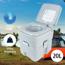 20L Tragbare Campingtoilette Chemietoilette Toiletteneimer Reise-WC Mobil WC