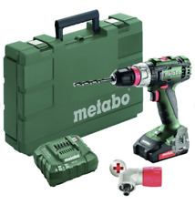 Metabo 602320620 BS 18 L Quick 18V Lithium-Ion 1/2 in. Cordless Drill Driver Kit