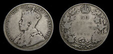 1914 Canada Silver 50 Fifty Cent Piece King George V G-4 Key Date