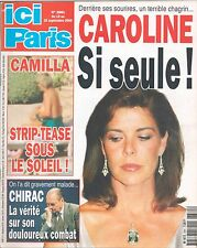 ▬►ICI PARIS 2881 CAROLINE MONACO_CINDY CRAWFORD_MICHAEL DOUGLAS_LENORMAN