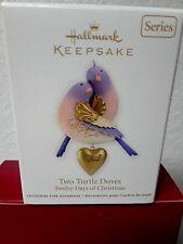 Two Turtle Doves 2012 Hallmark Ornament 12 Days Of Christmas Nib