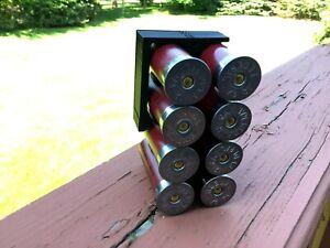 8 Shell Tactical Shotgun 12 Gauge Shell Ammo Holder with Vest / Belt Clip 12 Ga.