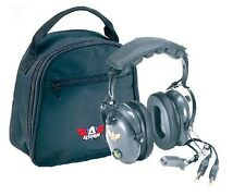 Avcomm AC-200 Pilot Aviation Headset with FREE Headset Bag - AC-200V2