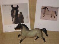 Breyer Classic BLUE ROAN QUARTER HORSE #641 Black Beauty mold 1999-2000