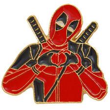 Deadpool Enamel Pin TV Movie Comic Brooch Metal Badge Cosplay Marvel