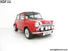 A Collectable Rover Mini Cooper Sport 500 with Just 5,791 Miles From New