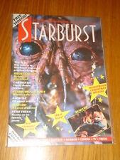 STARBURST #101 BRITISH SCI-FI MONTHLY MAGAZINE JANUARY 1987 LABYRINTH BOWIE