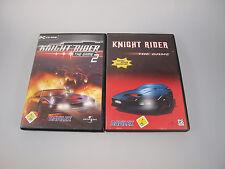 Knight Rider 1 & 2 - The Game (PC, 2004, DVD-Box) im Bundle KITT