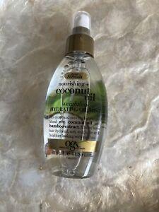 New Stock! OGX Coconut Oil Nourishing Hydrating Weightless Oil Mist 118 ml