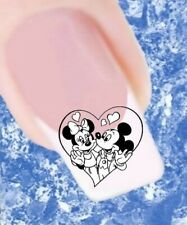 20 Nail Tattoos Minnie Maus Micky Maus 417 Sticker Nailart