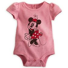 Wdw Disney Minnie Mouse Classic Disney Cuddly Bodysuit Romper Brand New