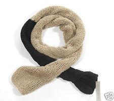 Neuf Coccinelle écharpe tricotée TRICOT écharpe 215cm x 30cm 1-15 (119)