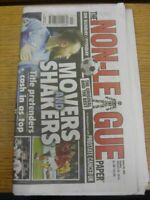 20/01/2019 The Non-League Newspaper: Issue No 982 - Movers and Shakers (folded).