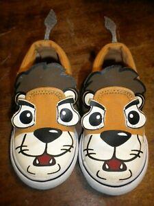 "Vans ""Asher Lion"" Toddler Shoes TODDLER SIZE 5 EUC"