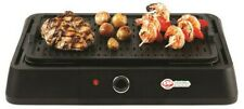 Barbecue Electric Grill Smokeless Non-Stick Grill,1600 Watts Black