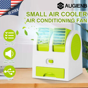 Portable Desk Air Conditioner Conditioning Cooling Cooler Fan USB US