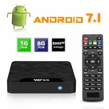 Smart TV Box Android 4K HD Video Media TV Player USB WiFi HDMI Movies Sports New