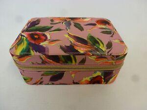 Ted Baker Bodywear Vanity Make Up Box Travel Case Pink Floral