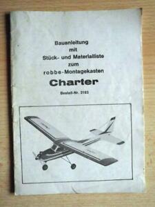 Orginal Robbe Bauanleitung Charter Best. Nr. 3183