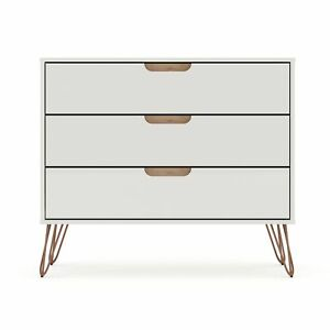 Rockefeller Dresser in Off White and Nature