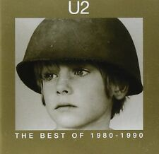 U2 THE BEST OF 1980-1990 CD ALBUM (1998)