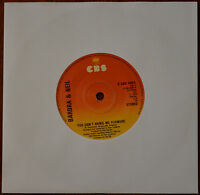 "Barbra Streisand & Neil Diamond ‎– You Don't Bring Me Flowers 7"" – SCBS6803 – VG"