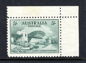 Sg 143,ASC 145; 5/-Sydney Harbour Bridge Fine & Fresh MNH