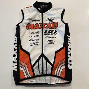 Maxxis Tires Cycling Vest Pro Mountain Bike Men's Medium 3 Ellsworth LG