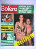 Bolero1625 Di Capri Modugno Mina Chiari Muti Steffan Bee Gees Paolo Rossi Tanzi