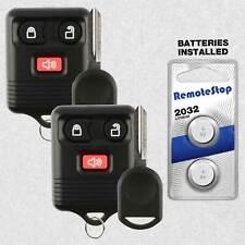 2 For 2004 2005 2006 2007 2008 2009 2010 Ford F150 F250 F350 Remote Fob Key