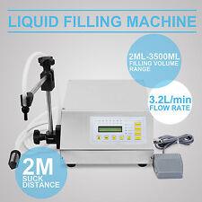 PUMP LIQUID FILLING AUTOMATIC MACHINE NUMERICAL DIGITAL CONTROL FILLING 2-3500ML