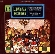 LP BEETHOVEN STRING QUARTETS THE CLAREMONT QUARTET