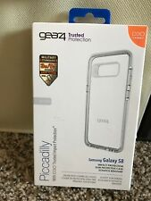 GEAR4 Piccadilly Case For Samsung Galaxy S8 With D30 Impact Protection - Clear