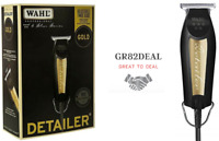 Wahl 8081-1100 5-Star Series Detailer T-Wide Blade Black & Gold Corded Trimmer