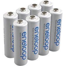 PANASONIC ENELOOP AA Rechageable Batteries x 8 USA SELLER
